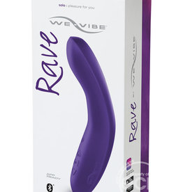 We-Vibe We-Vibe Rave Silicone G Spot Rechargeable Vibrator Purple