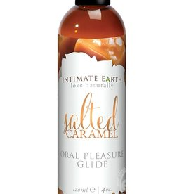 Intimate Earth INTIMATE EARTH GLIDE SALTED CARAMEL 4OZ  LU
