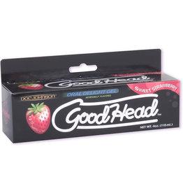 Doc Johnson Good Head Oral Delight Gel 4 oz. - Strawberry