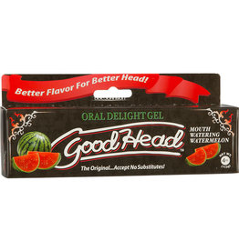 Doc Johnson Goodhead - Oral Delight Gel - Watermelon - 4 oz.
