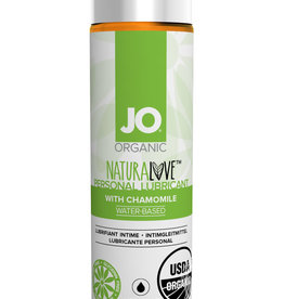 System Jo Jo Organic Naturalove Personal Waterbased Lubricant With Chamomile 4 Ounce