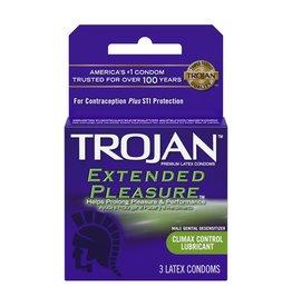 Trojan Trojan Extended Pleasure Latex Condoms 3pk