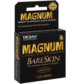 Trojan Trojan Magnum Bareskin Condoms - Pack of 3