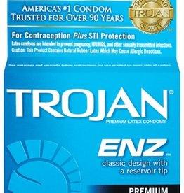 Trojan Trojan Condom Enz Lubricated 3 Pack
