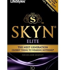 Lifestyles Lifestyles SKYN Elite Ultra Thin Condoms - Pack of 10