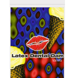 Top Cat International Latex Dental Dam - Vanilla