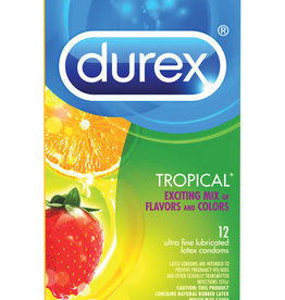 Durex Durex Tropical Flavors - 12 Pack