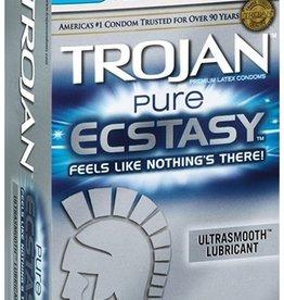 Trojan Trojan Pure Ecstasy Condoms - Box of 10