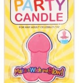 Little Genie Party Candle (MAKE A WISH)