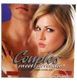 Kingman Couples Sweet Surrender His And Hers Edibles 2 Piece Set Pina Colada With Rum