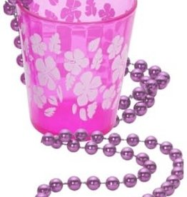 FEVER LINGERIE Shot Glass on Beads - Hot Pink