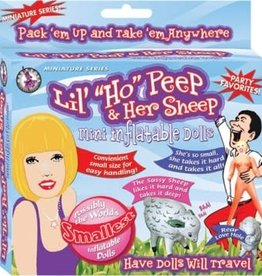NassToys Lil' Ho Peep & Her Sheep Inflatable Dolls