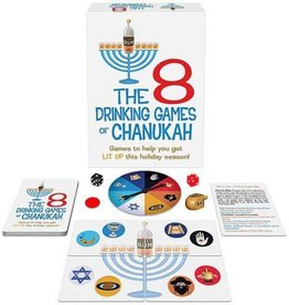 Kheper Products The 8 Drinking Games of Chanukah