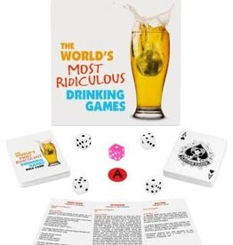 Kheper Products The World's Most Ridiculous Drinking Games