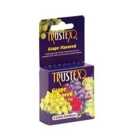 Trustex Trustex Grape Flavored Condoms