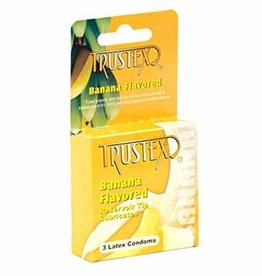 Trustex Trustex Banana Flavored Condoms