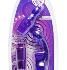XR Brands Trinity Rocket 3 Way Pocket Vibe - Purple