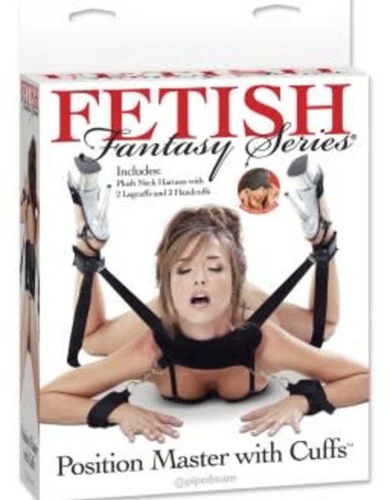 Pipedream Fetish Fantasy Series Position Master With Cuffs