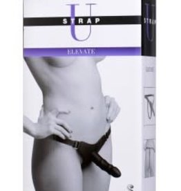 XR Brands Strap U Elevate Silicone Strap on With Dildo