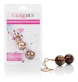 California Exotic Novelties The Leopard Duo Tone Balls