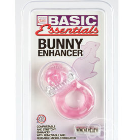 CALEXOTICS Basic Essentials Bunny Enhancer With Removable Stimulator Pink