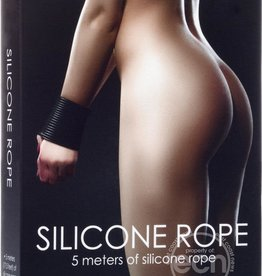 Shots Ouch! Silicone Rope 5 Meters of Silicone Rope - Black