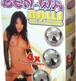 NassToys Ben Wa Balls on a String Silver