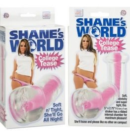California Exotic Novelties Shanes World Strokers College Tease - Pink
