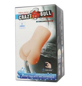 Pretty Love Crazy Bull No Lube Masturbator Sleeve - Realistic Anal Skin-Like Texture