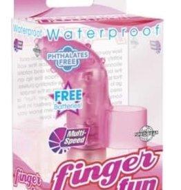 Pipedream Waterproof Finger Fun - Pink