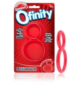 Screaming O Ofinity Double Ring - Red
