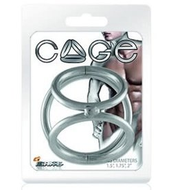 SI Novelties Chrome Cage