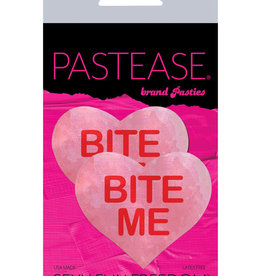 Pastease Pastease Bite Me Heart - Pink/Red O/S