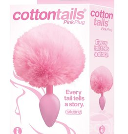Icon Brands The 9 Cottontails Bunny Tail Plug Pink