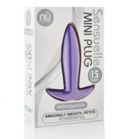 Sensuelle Sensuelle 15 Function Mini Plug - Purple