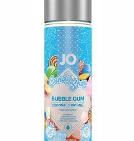 System Jo Jo Candy Shop Water Based Flavored Lubricant Bubble Gum 2 Ounce