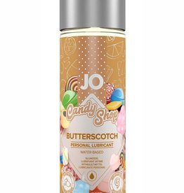 System Jo Jo Candy Shop Water Based Flavored Lubricant Butterscotch 2 Ounce