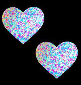 Neva Nude Sprankles Neon Blacklight Glitter I Heart U Nipztix Pasties