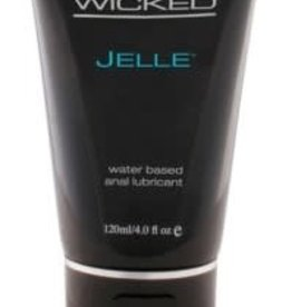 Wicked Sensual Care Jelle Water-Based Anal Lubricant - 4 Oz.