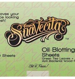 Suavecito GREEN TEA LEAF OIL-BLOTTING SHEETS