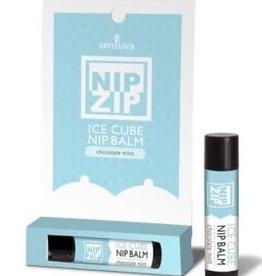 SENSUVA Nip Zip Ice Cube Nip Balm - Chocolate Mint - Tube Carded