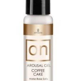 SENSUVA On Arousal Gel Coffee Cake 1 Fl. Oz. Bottle