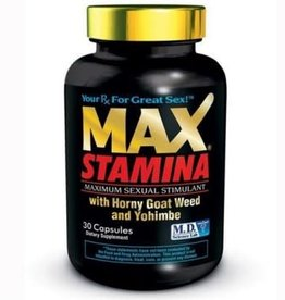 M.D. Science Lab Max Stamina 30 Count Bottle