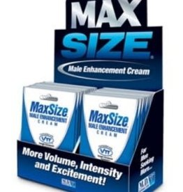 M.D. Science Lab Max Size Cream - SINGLE PACKS