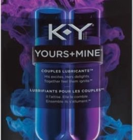 KY K-Y Yours + Mine Couples Lubricant