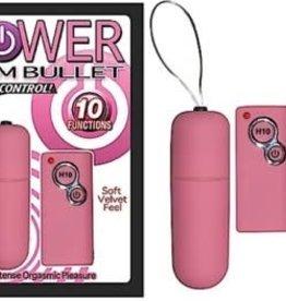 NassToys Power Slim Bullet Remote Control - Pink