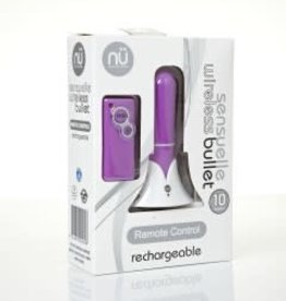 Sensuelle Sensuelle Remote Control Wireless Bullet - Purple