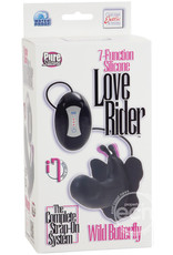 Calexotics 7-Function Silicone Love Rider Wild Butterfly Stimulator -