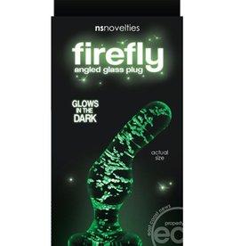 nsnovelties Firefly Glass Glow In The Dark Angled Plug 3.5 Inch