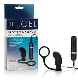 California Exotic Novelties Dr. Joel Kaplan 10-Function Prostate Massager and Rings - Black